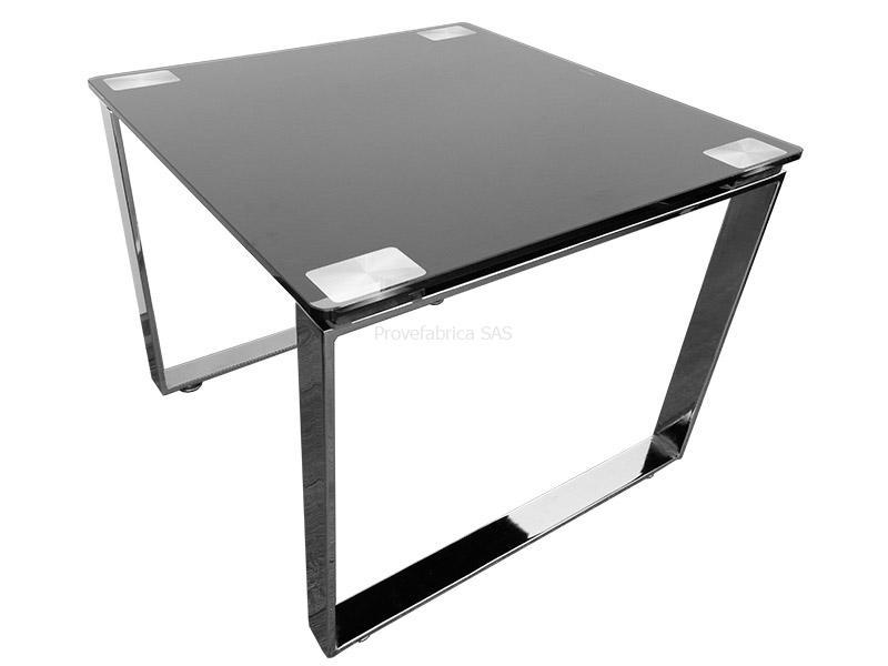 mesas de vidrio provefabrica On mesa de cristal cuadrada